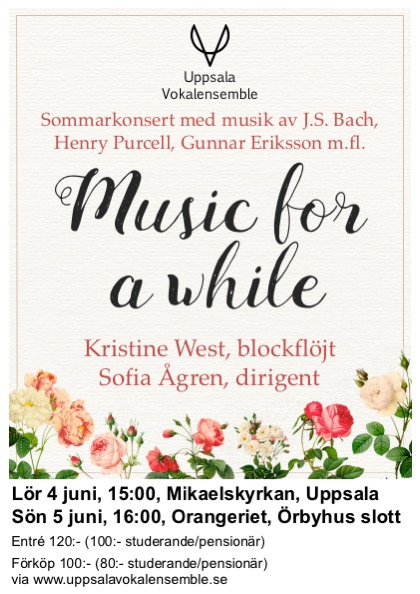 Sommarkonsert: Music for a while
