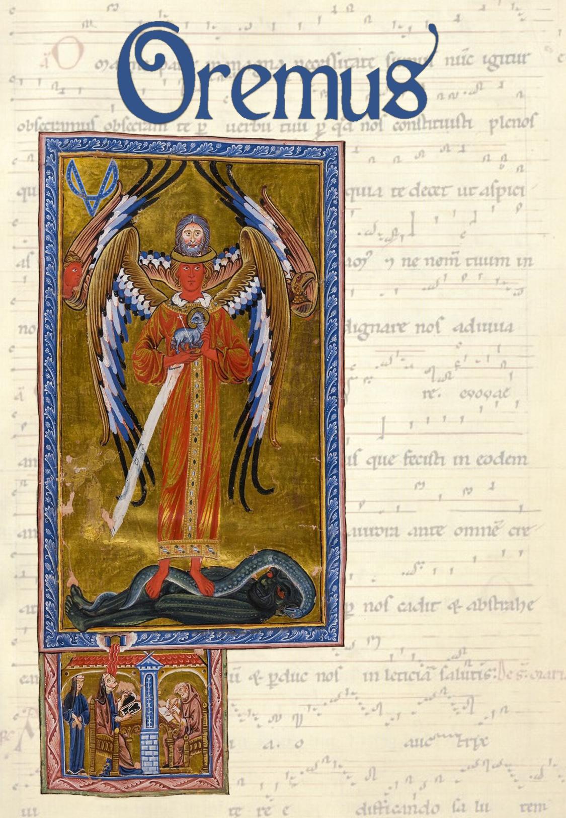 """""""Oremus""""</br><font size=""""3"""">Meditativ musik av Pärt, Sisask och von Bingen</font>"""